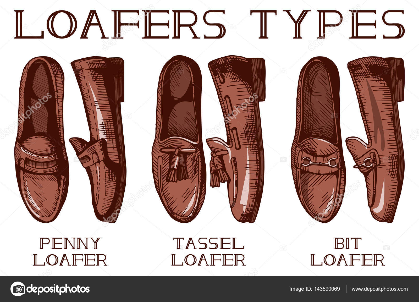 All Types Of Leather Shoes
