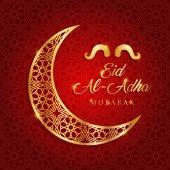 Eid al adha, kurban bayrami vektor