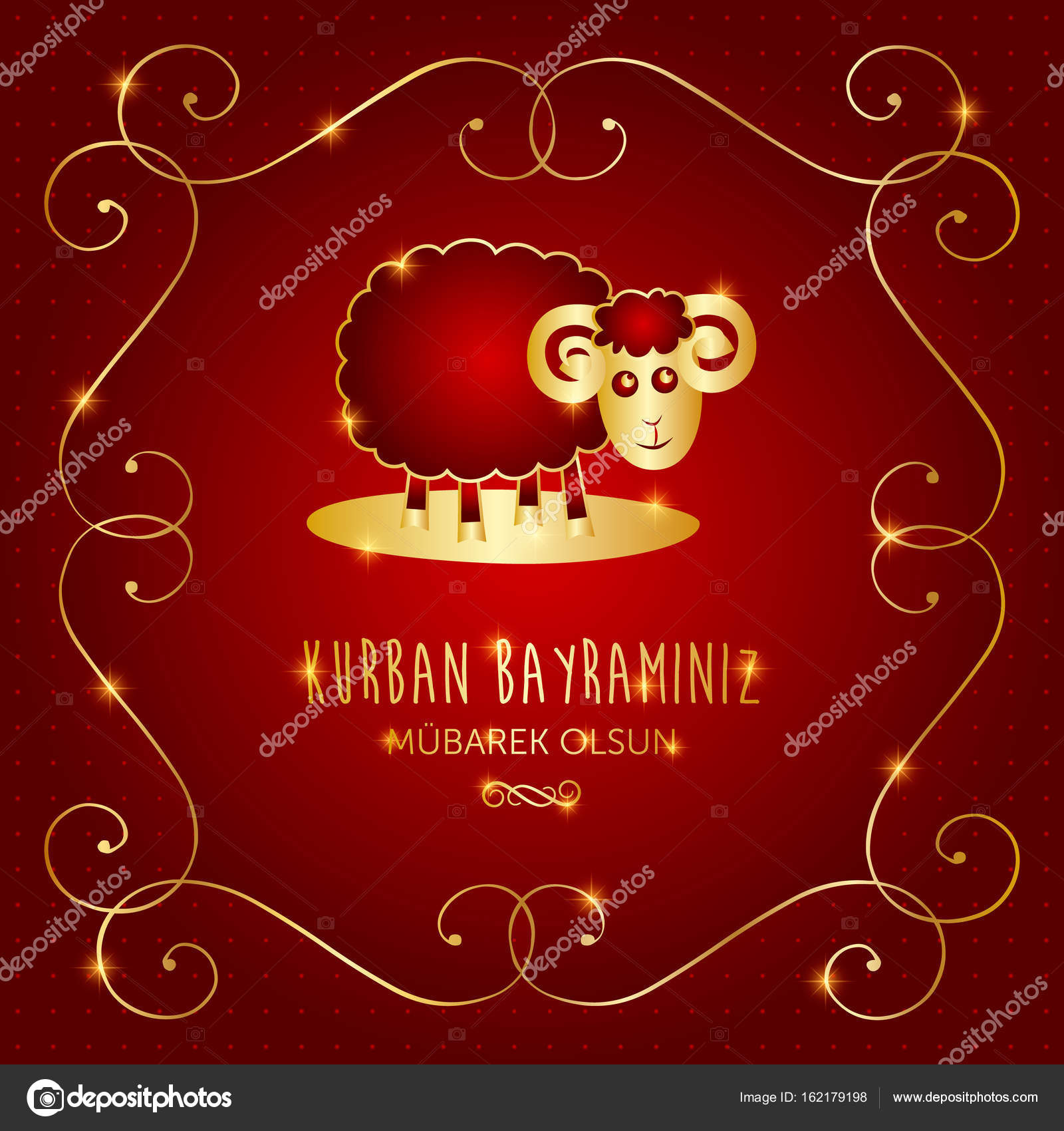 Kurban Bayrami Islamic Festival Of Sacrifice Eid Al Adha Mubarak