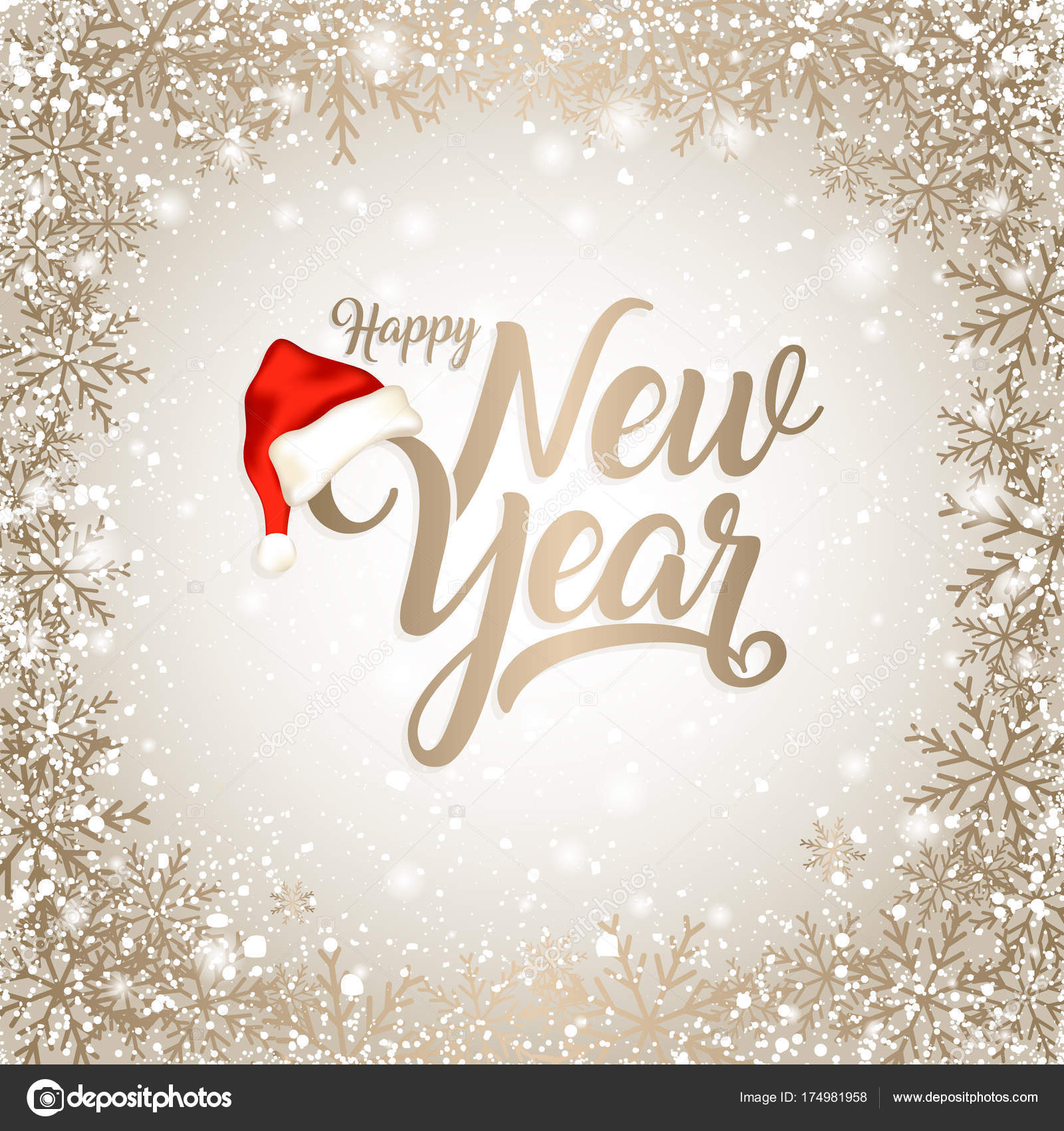 New year card vector stock vector cylnone 174981958 new year card vector stock vector m4hsunfo