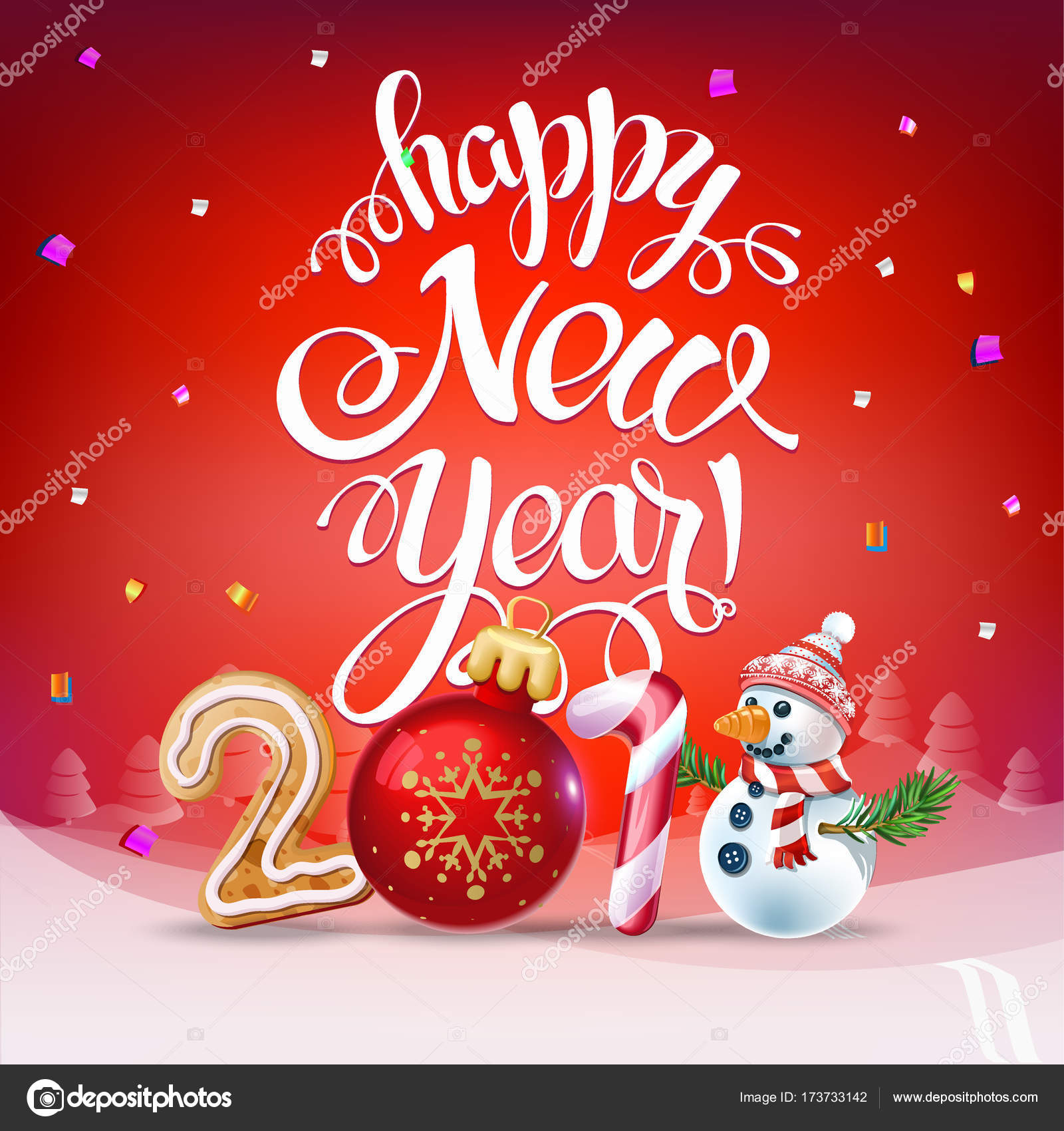 Joyeux Noel Et Nouvel An.Carte D Affiche Joyeux Noel 2018 Decoration Image
