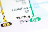 Tutzing. Münchner Stadtplan.