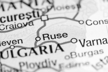 Ruse on a map