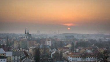 České město Ostrava timelapse