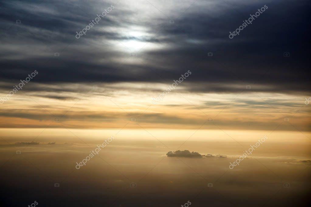 Amazing cloudy sky
