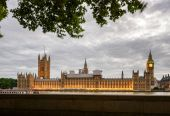 Photo Palace of Westminster with Elizabeth Tower