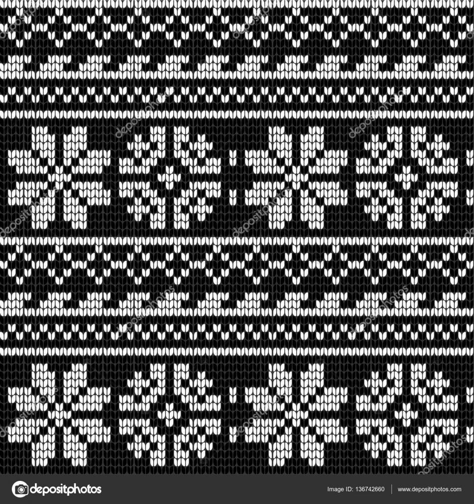 Patrón de Noruega para hacer punto estrella — Vector de stock ...