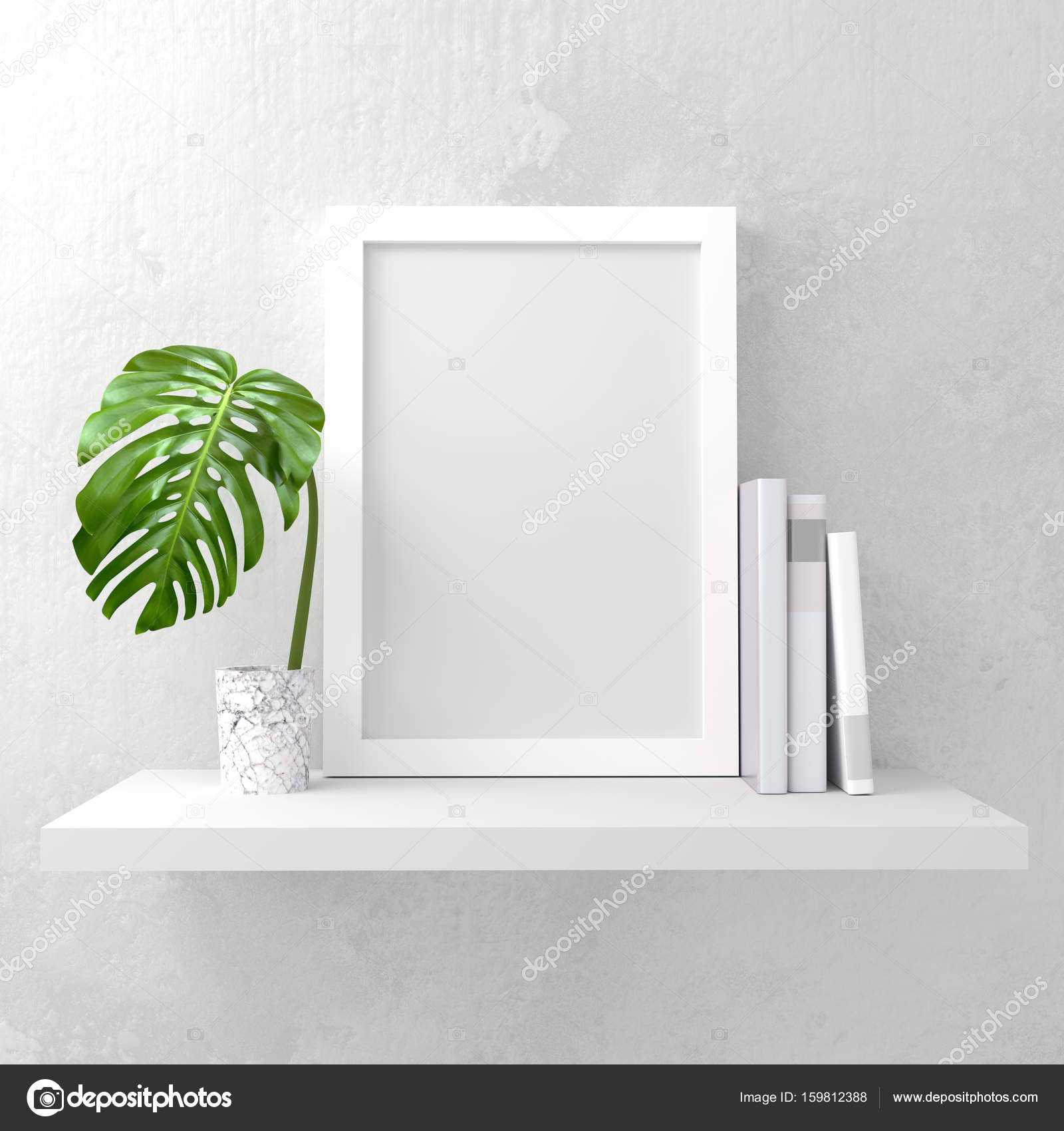 Foto Rahmen Mock-Up Hintergrund — Stockfoto © solarseven #159812388