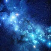 Fotografie Světlé vzdálených hvězd