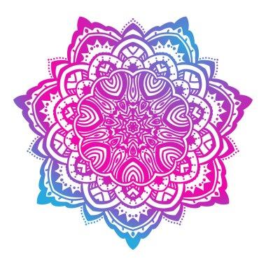 Beautiful Mandala. Vintage decorative element.