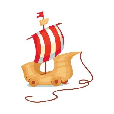 ship toy  illustration