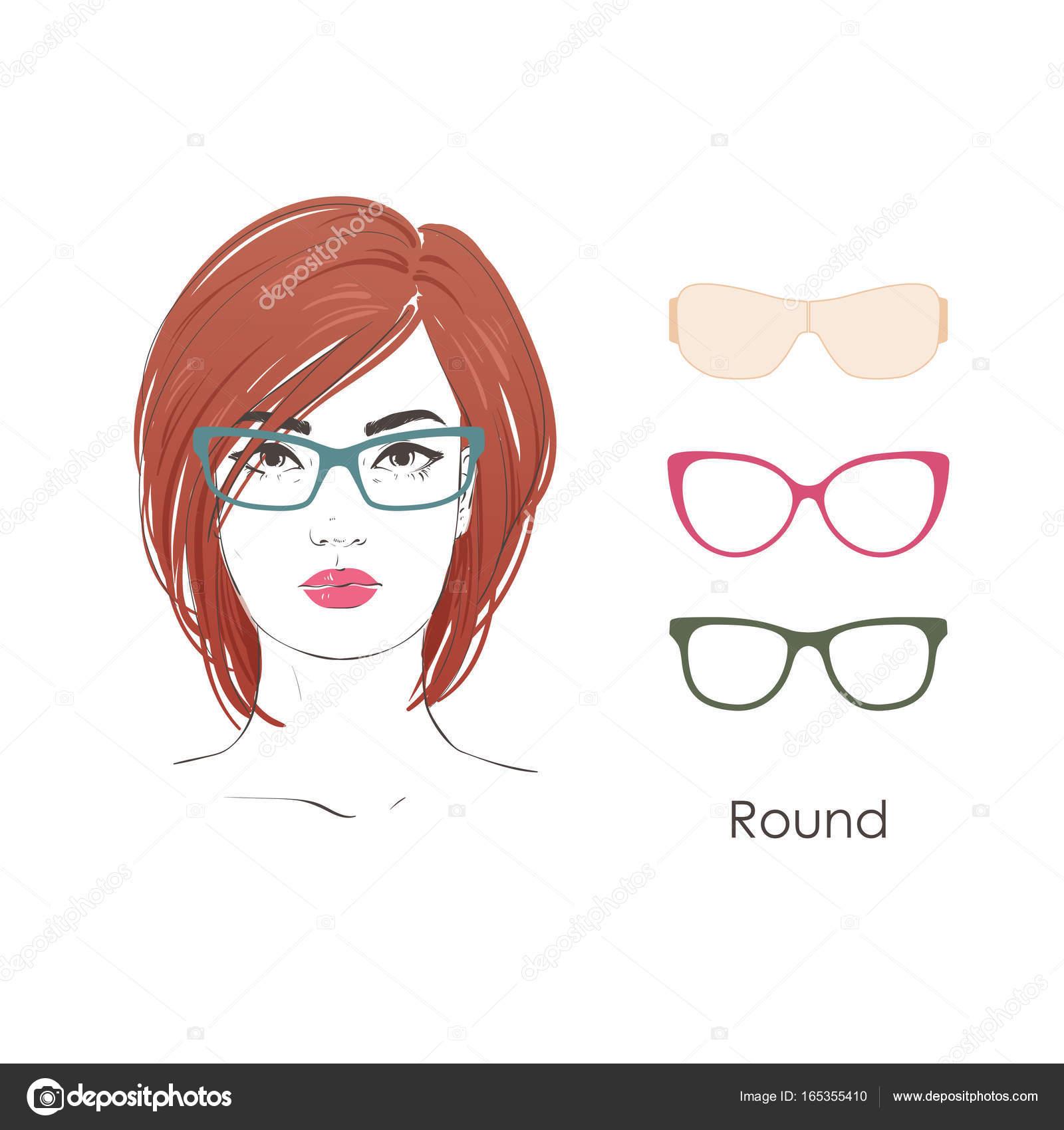 Frisuren fur runde gesichter mit brille