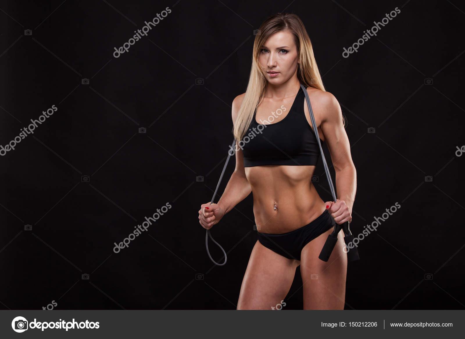 Bilder schöne Fitness Frau