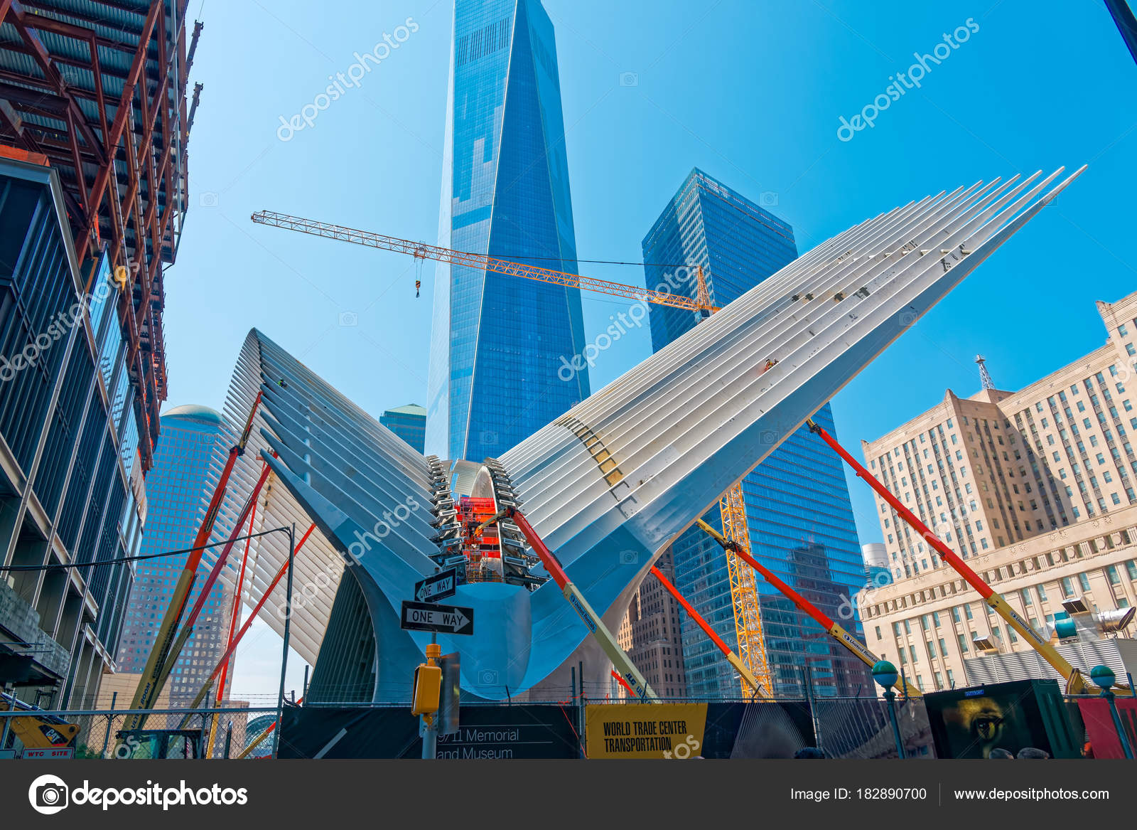 New York Usa June 2015 Ground Zero World Trade Center