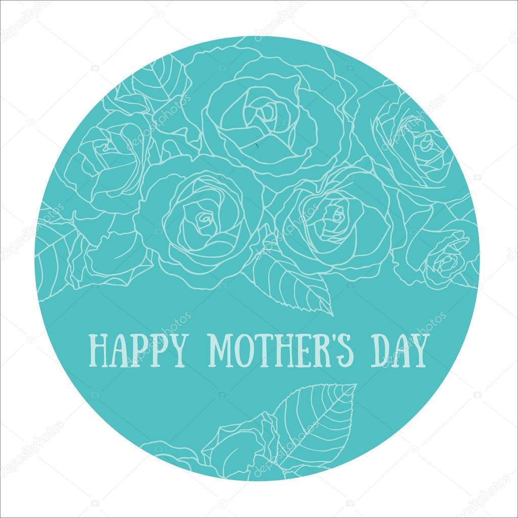 Открытки история, день матери стикер открытка