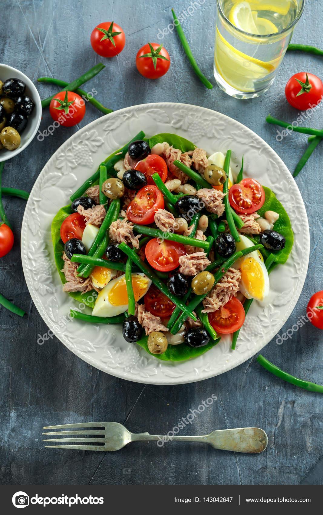 Bohnen salat gesund