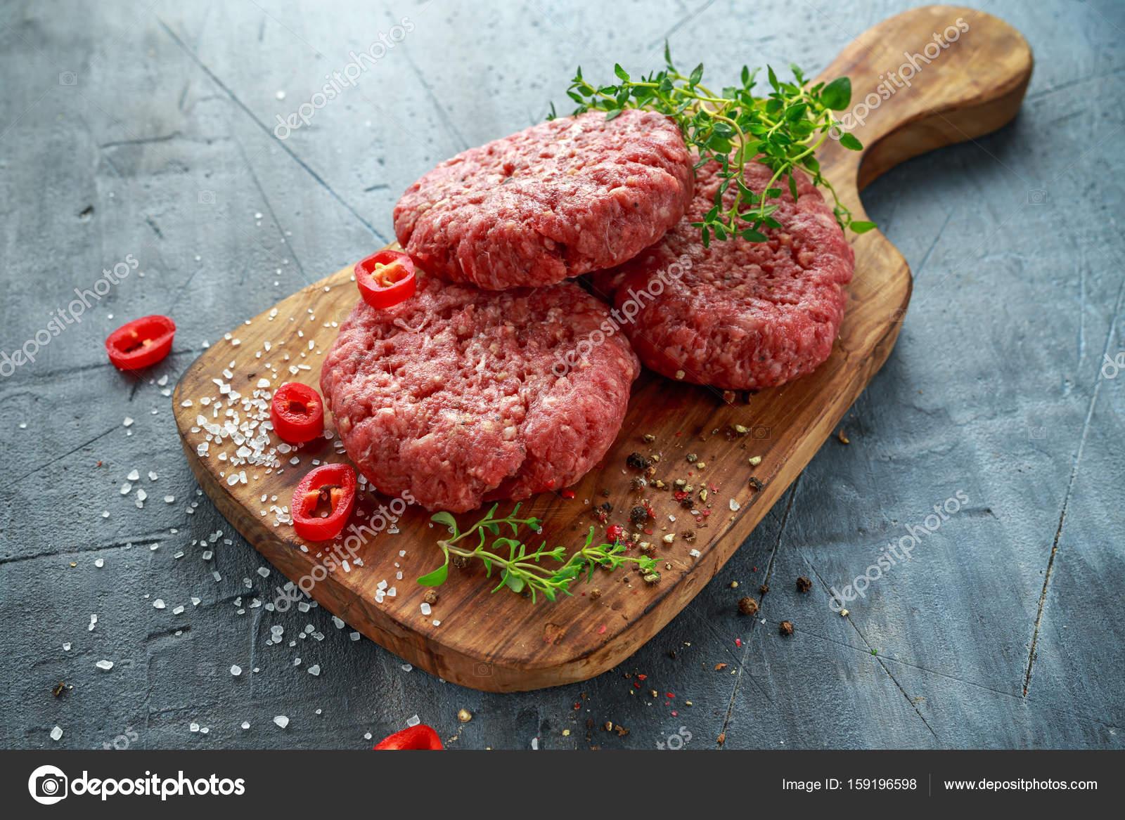 köttfärs till hamburgare