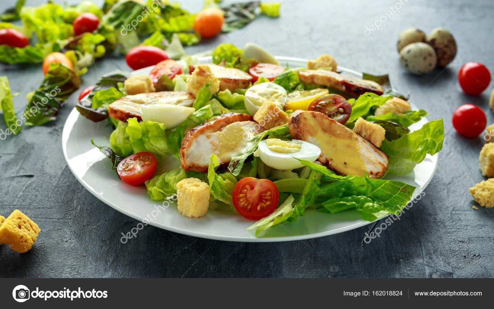 Цезарь салат курица помидоры сыр