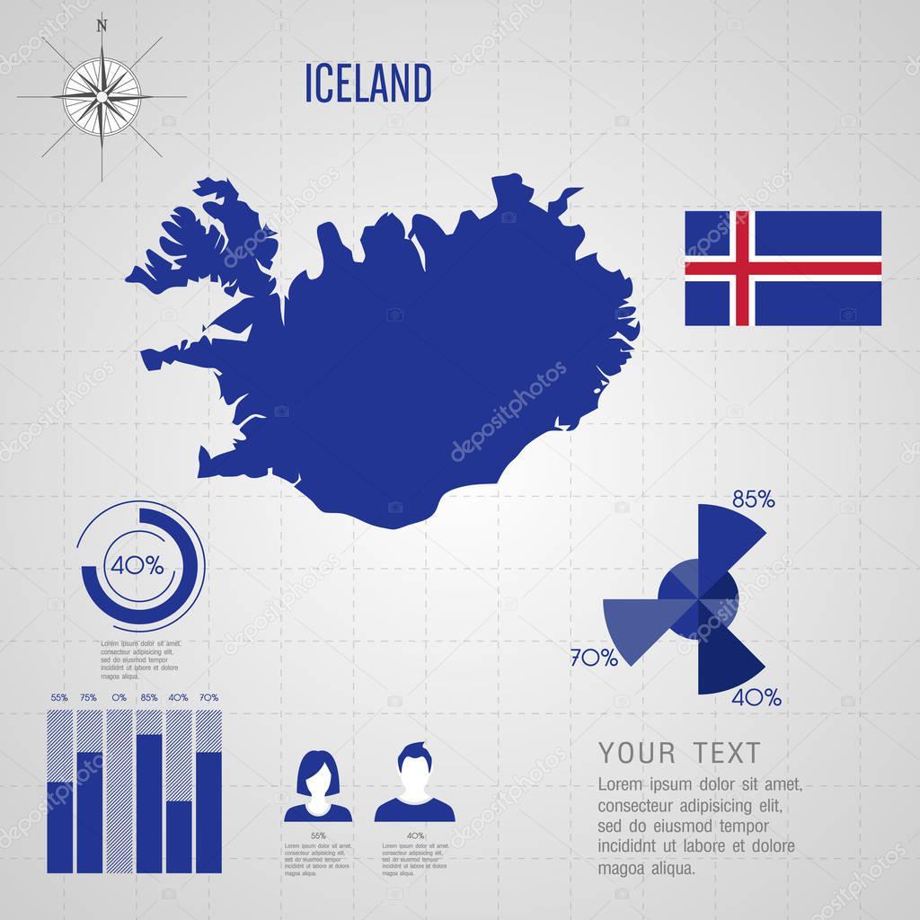 Iceland flag world map travel vector illustration stock iceland flag world map travel vector illustration stock vector gumiabroncs Image collections