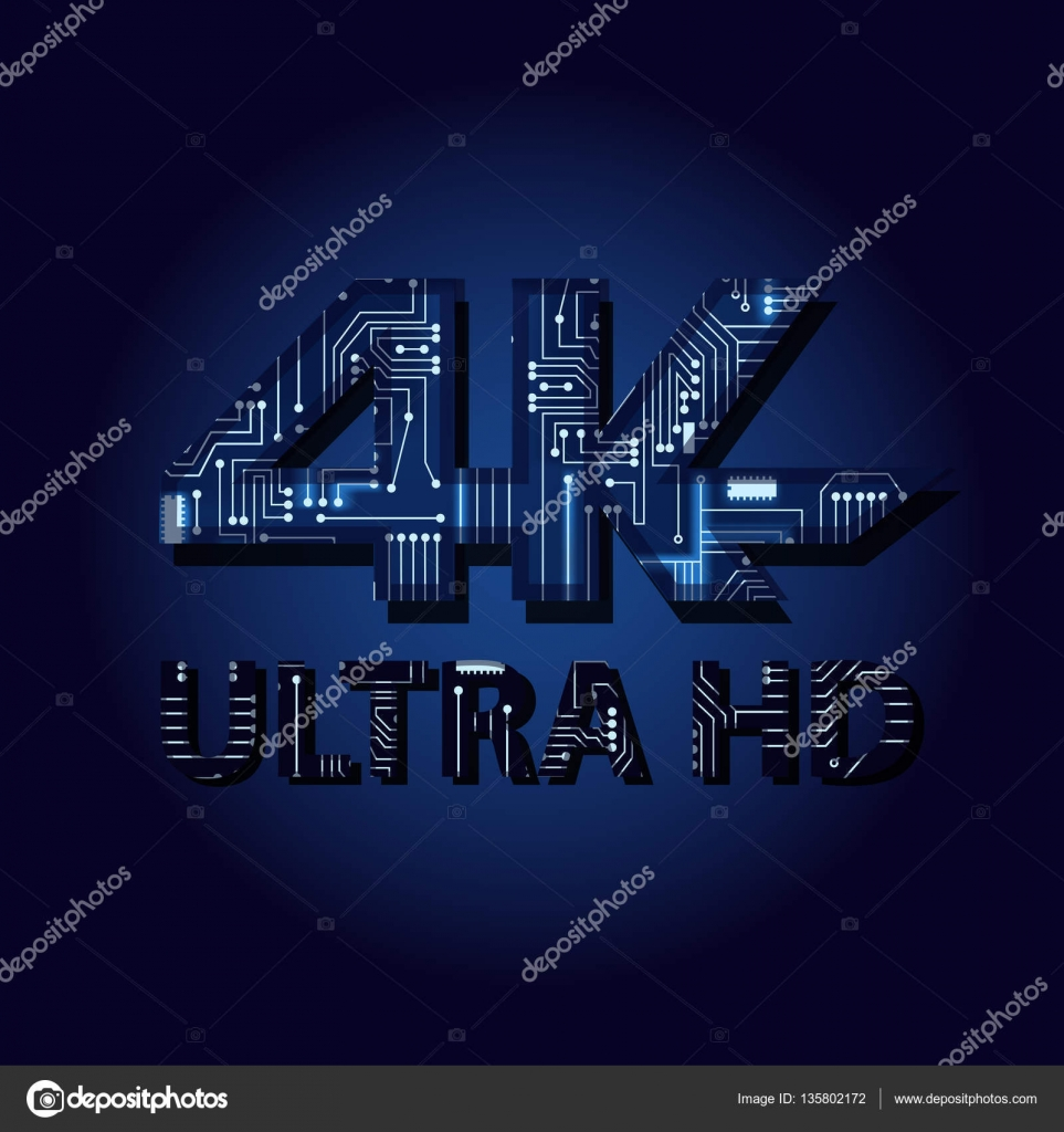 Wallpapers Wallpaper Desktop Hd 4k Ultra Hd With Electronic Circuit Stock Vector C Drical 135802172