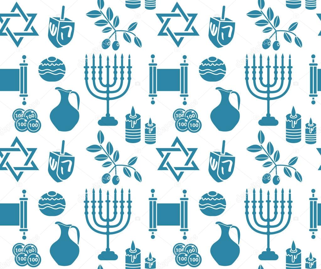 Hanukkah symbol seamless pattern hanukkah background with menorah hanukkah symbol seamless pattern hanukkah background with menorah torah sufganiyot olives and buycottarizona Images