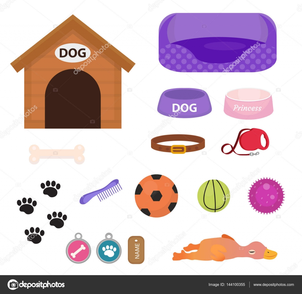 Cute Dog Toys Png