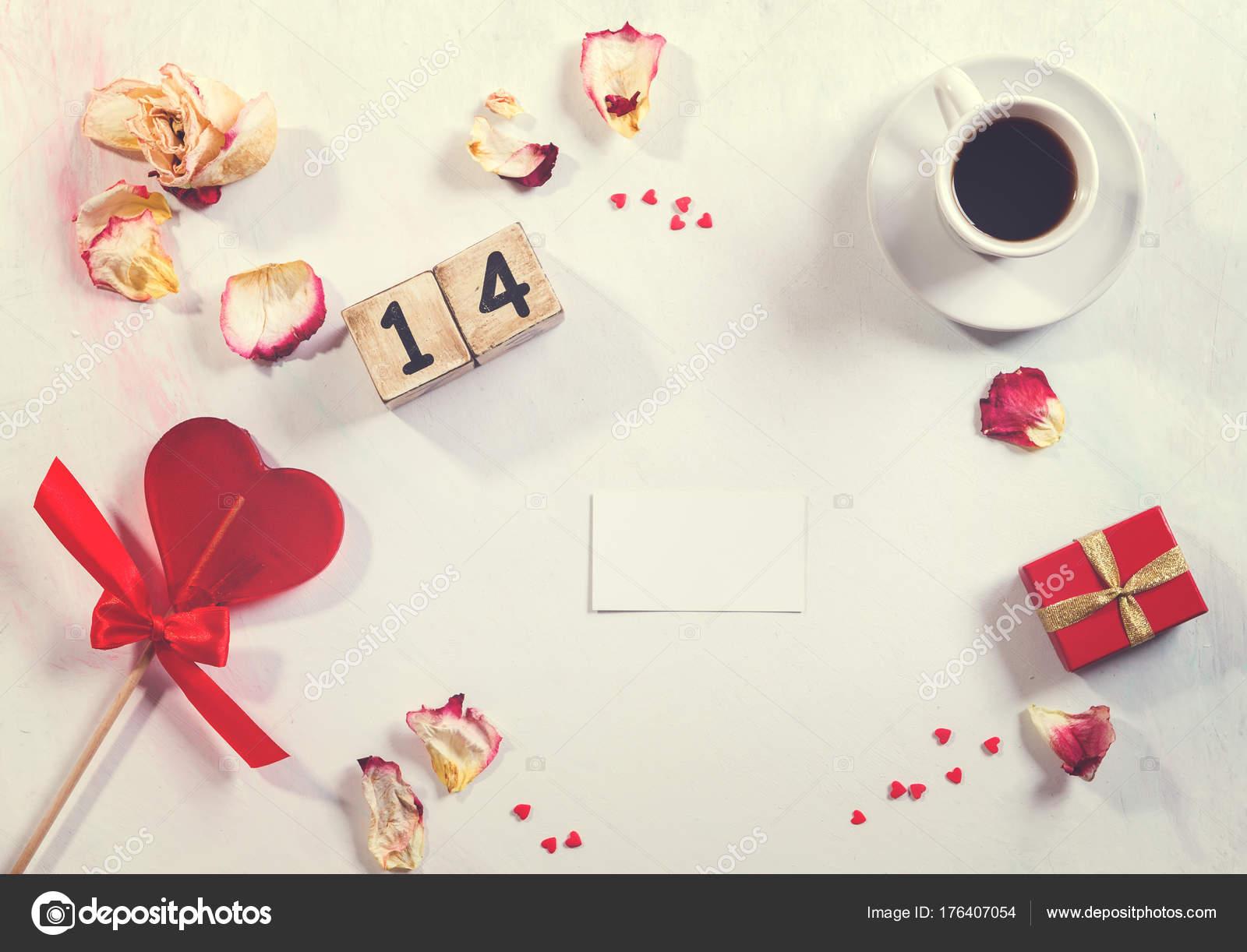 concepto de amor y día de San Valentín — Foto de stock © tirlikk ...