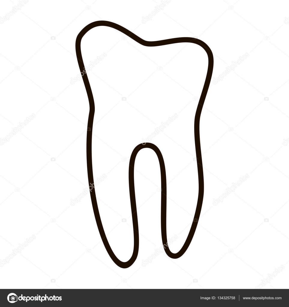 human teeth icons set isolated on white background for dental