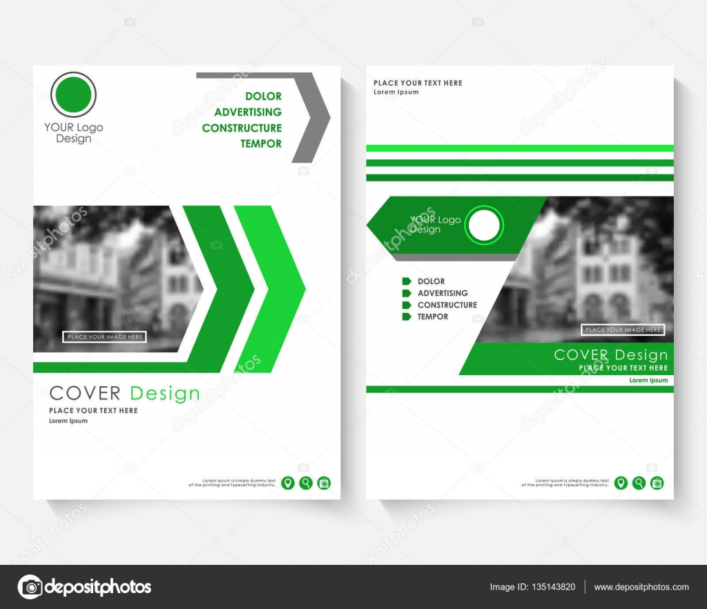 Green cover design template for annual report modern business green cover design template for annual report modern business concept booklet magazine brochure with spiritdancerdesigns Image collections