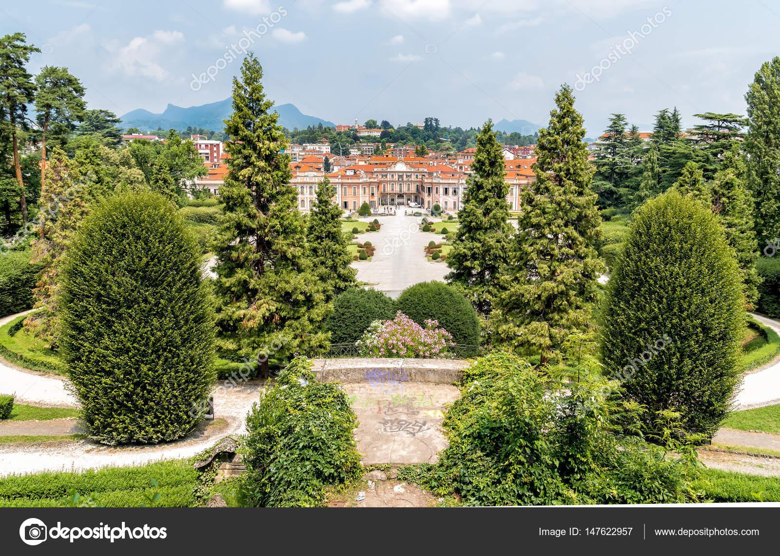 Varese Italien gärten estense palast palazzo estense varese italien