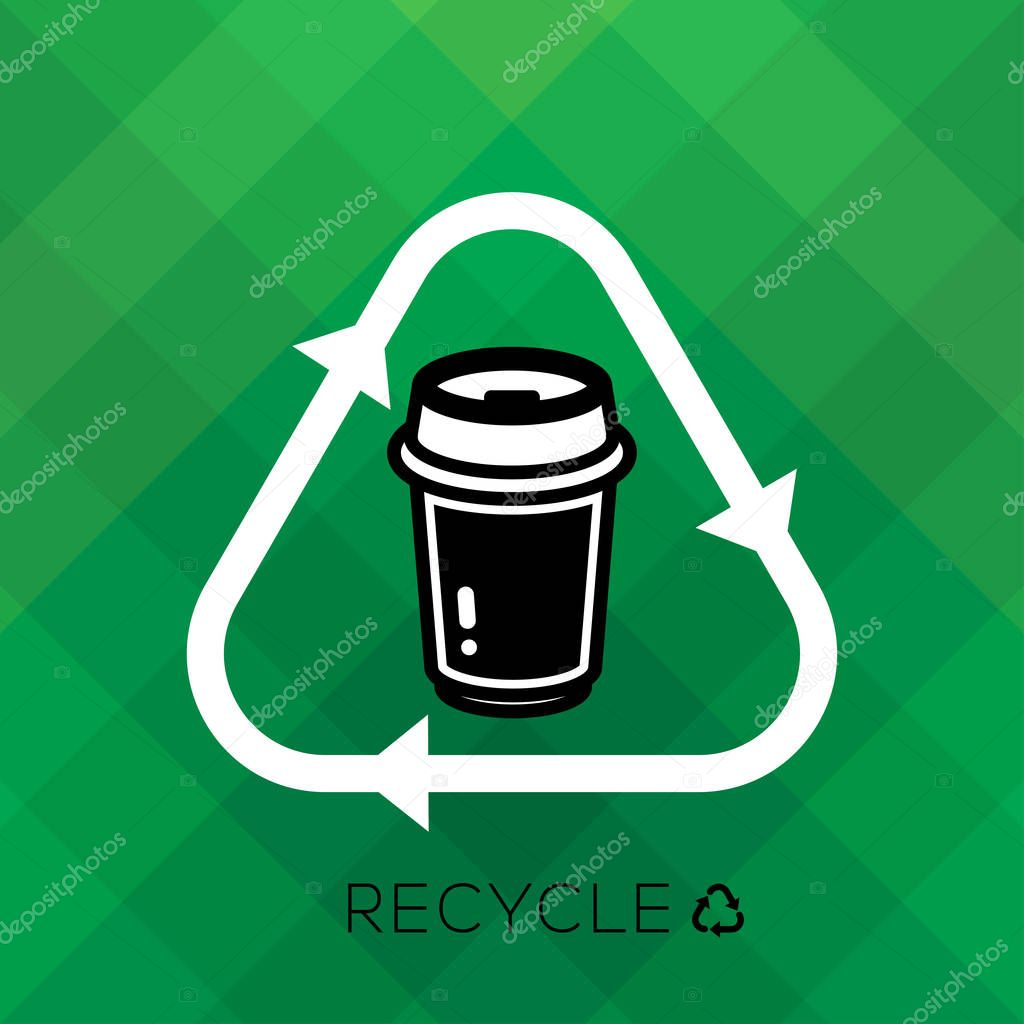 RECYCLE PAPER CUP