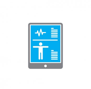 Medical technologies related icon on background for graphic and web design. Creative illustration concept symbol for web or mobile app.