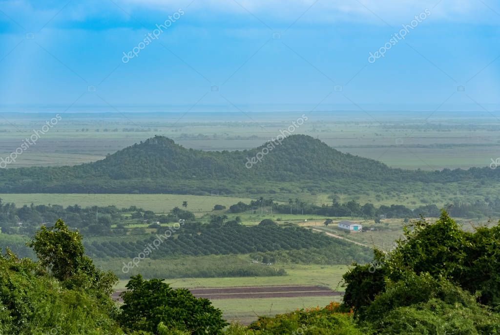 Panoramic view of the landscape of Vinales in Cuba - Serie Cuba Reportage