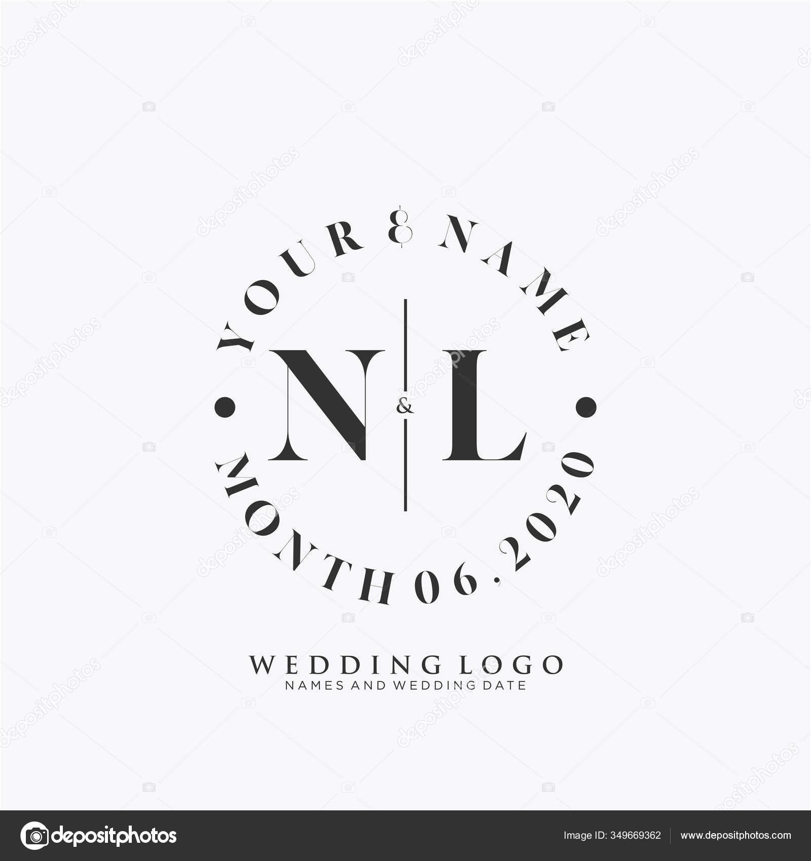Initial Beauty Monogram Elegant Logo Design Handwriting Logo Initial Signature Stock Vector C Artafrilia Gmail Com 349669362