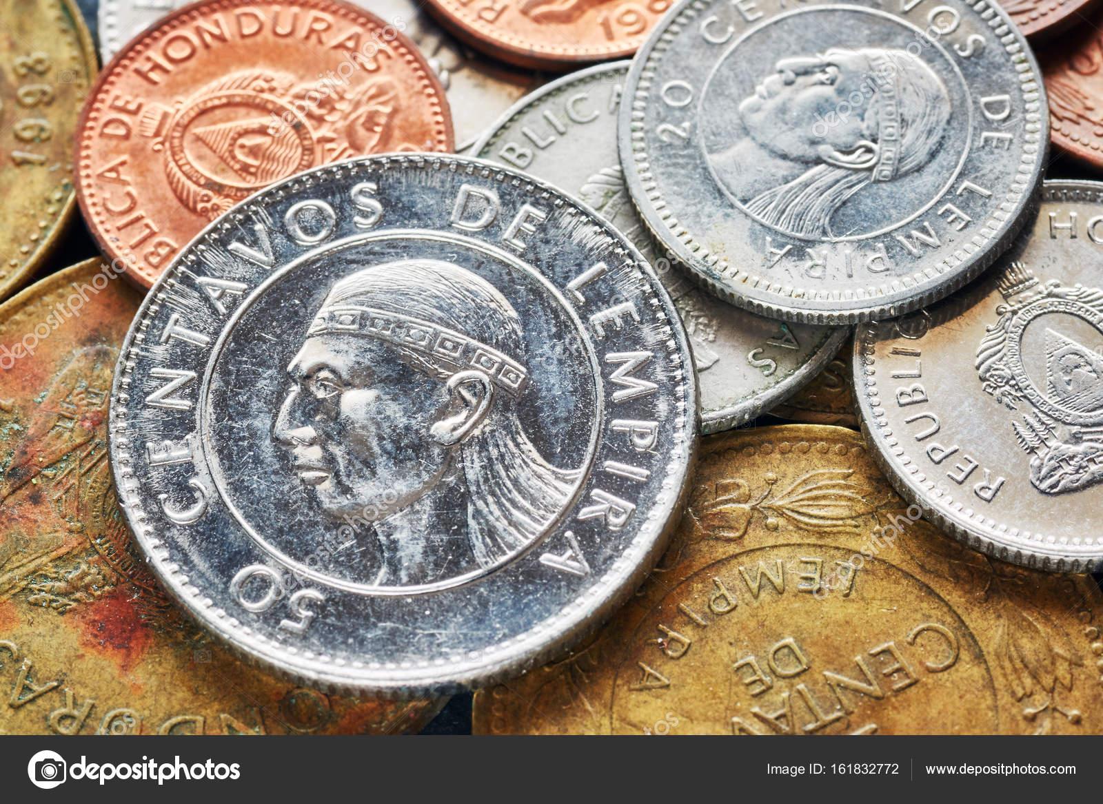 ホンジュラス レンピラの硬貨の...