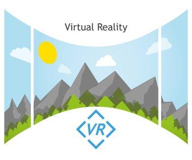 Virtual Reality 360 degree panorama
