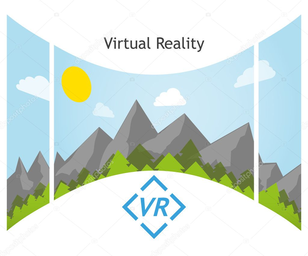 Virtual Reality 360 degree panorama