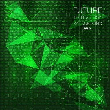 Technology future background