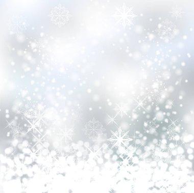white snowflakes backdrop