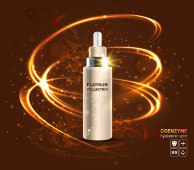 cosmetic cream with hyaluronic acid