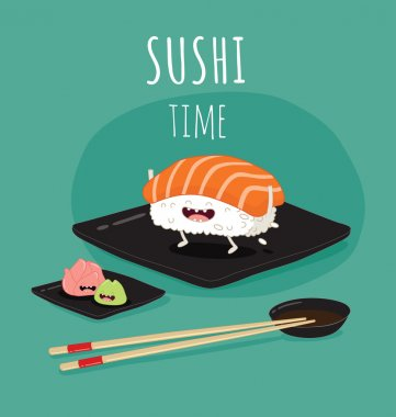 sushi time banner