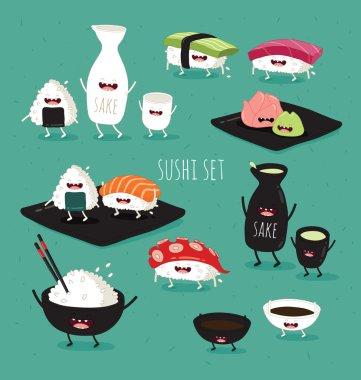 funny sushi set