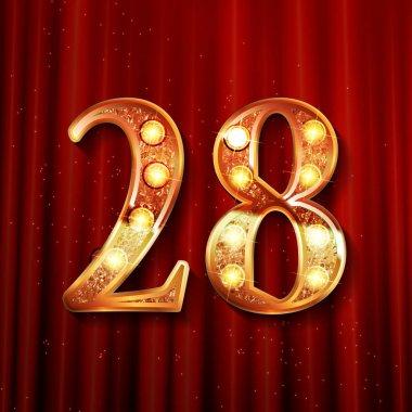 Celebrating of 28 years anniversary