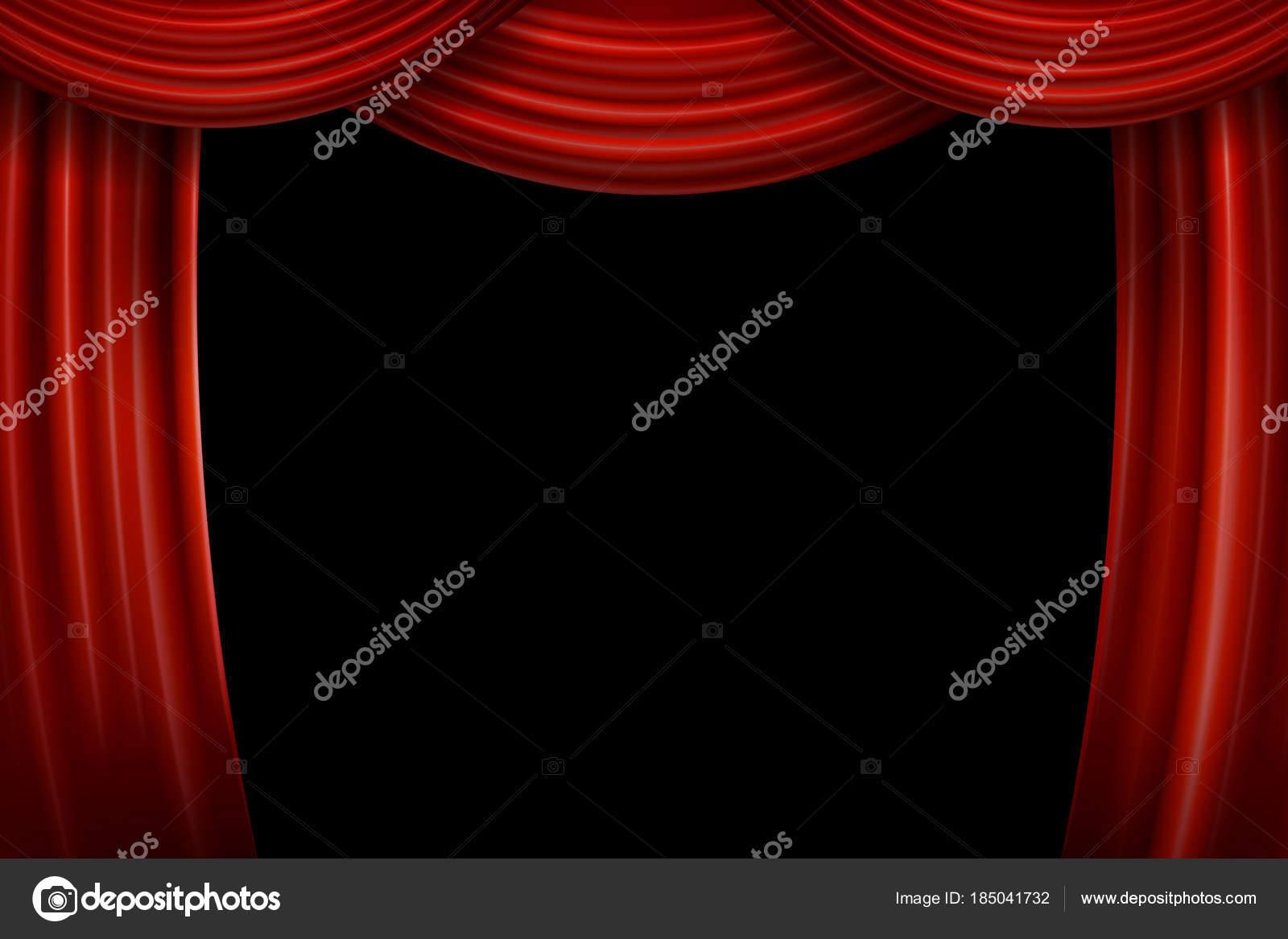 curtains photos red curtain velvet