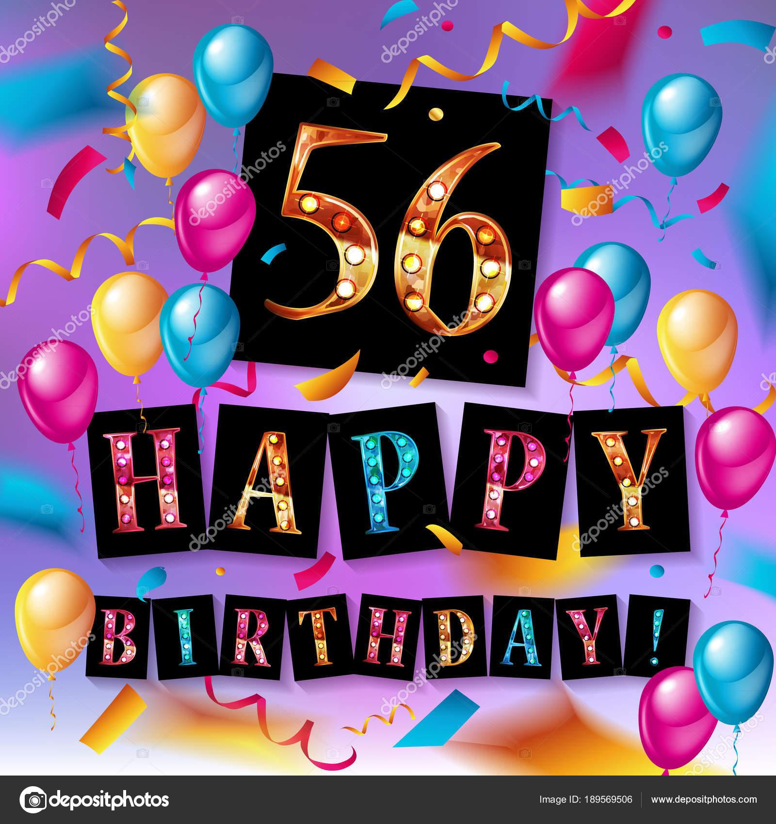 56 jaar 56 jaar gouden jubileum — Stockvector © nastyaaroma2011 #189569506 56 jaar