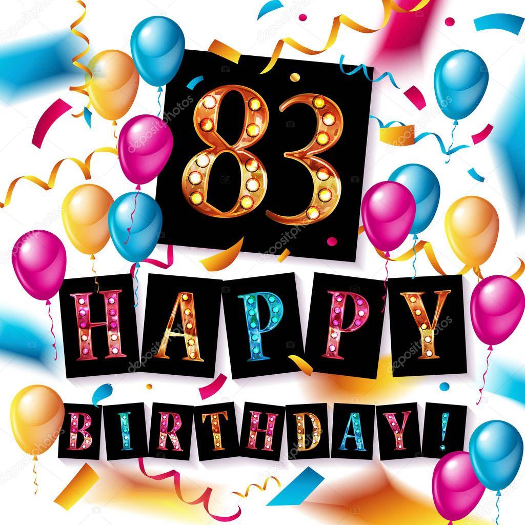 Поздравления на день рождения 68 лет