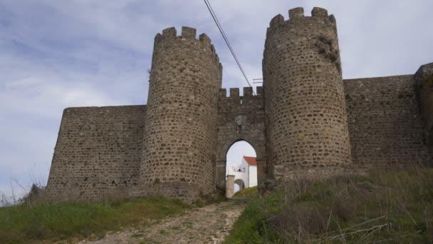 Městský hrad Evoramonte v Alenteju, Portugalsko
