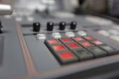 Photo Broadcast studio video and audio switcher mixer
