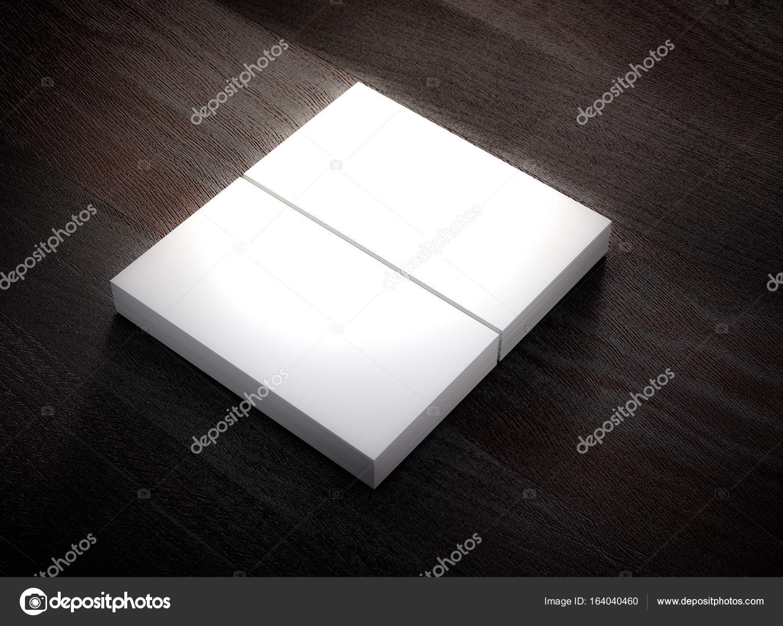 Nice business card mockup template ideas business card ideas blank business card mockup template 3d rendering stock photo reheart
