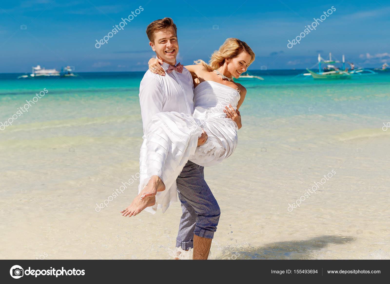 Schön Tropischen Strand Brautkleid Zeitgenössisch - Hochzeit Kleid ...